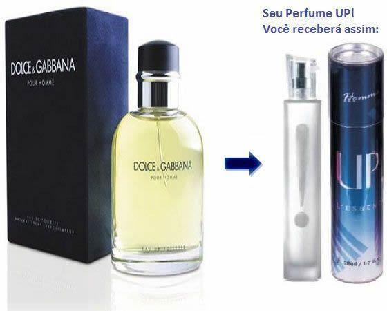 Perfume Masculino 50ml - UP! 07 - Dolce   Gabbana - Perfumes up essência 2b45425b45